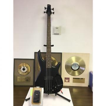 Custom Ibanez SRKP4 with Korg Mini Kaoss Pad 2 Electric Bass Guitar Black