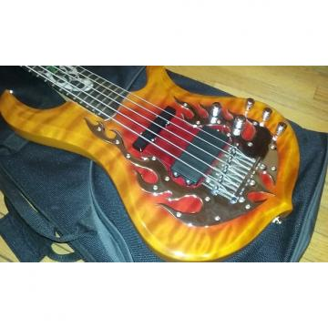 Custom Traben Phoenix QMT 5-String Passive Bass (Excellent Condition)