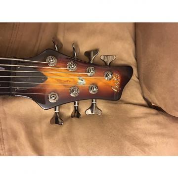 Custom Raven West 7 String Bass Sunburst