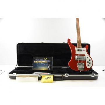 Custom 2015 Rickenbacker Model 4003S Electric Bass Guitar - Ruby Red w/OHSC