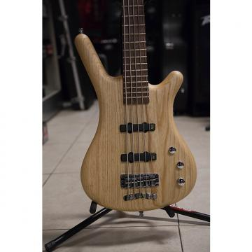 Custom Warwick German Pro Series Active GPS Corvette 5 String Natural Finish Natural