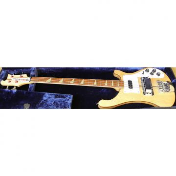 Custom Vintage 1974 Rickenbacker 4001 Mapleglo with Original HS case