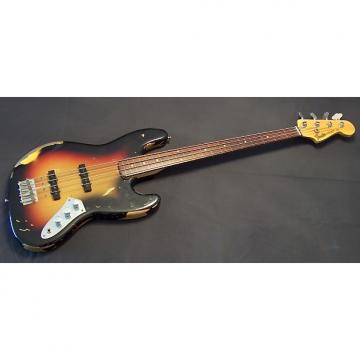Custom Fender Custom Shop Jaco Pastorius Fretless Jazz Bass 2015 3-Color Sunburst w/ Rosewood Fretboard
