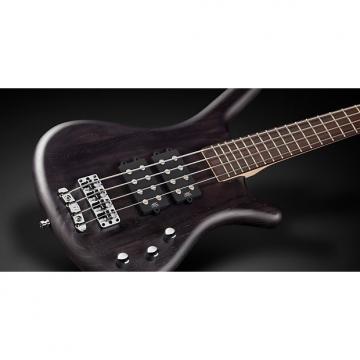 Custom Warwick RockBass Corvette $$ Passive 4-String Bass Fretless Nirvana Black Oil