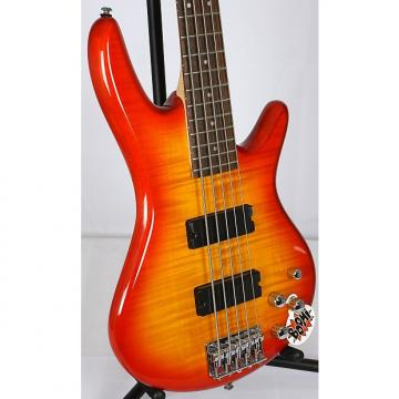 Custom Ibanez GSR-205-FM GSR205FM 5 String Electric Bass Guitar Amber Burst
