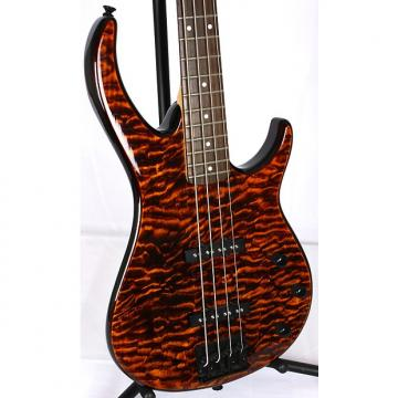 Custom Peavey Millennium BXP 4 String Electric Bass Guitar Figured Top Transparent Tiger Eye Quilted Maple