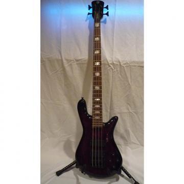 Custom Spector Euro Rebop 4 DLX Bass 2012 Black Cherry Burst