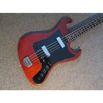 Custom Fenton Weill Dualmaster bass 1961/3 dark red