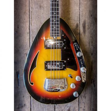 Custom 1960s Vox Teardrop Bass Sunburst