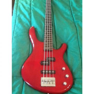 Custom Cort Action Bass red