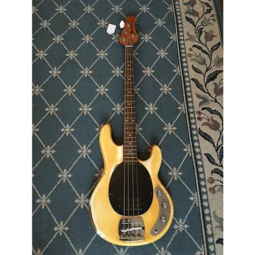 Custom Music Man Stingray Bass Guitar 1979 Yellowed Olympic White