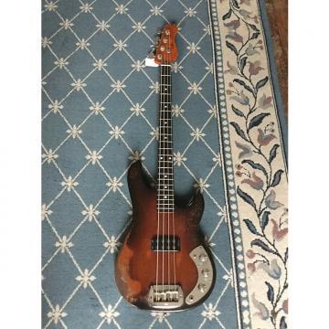 Custom G&L L-1000 Bass Guitar 1982 Tobacco Burst