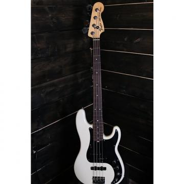 Custom Fender  American Deluxe Precision Bass Olympic White