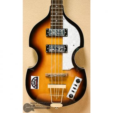 Custom Hofner HCT-500/1 CT Violin Bass Guitar in Sunburst