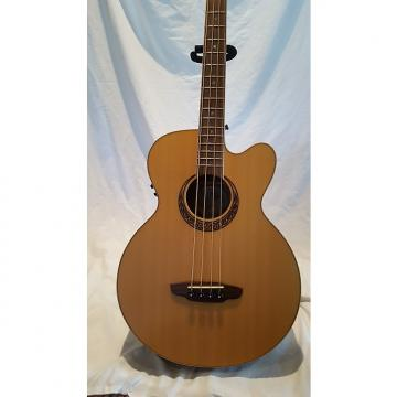 Custom Luna Acoustic Electric Bass - Muse Natural