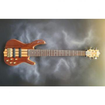 Custom Ken Smith Design Burner Deluxe 6-String Bass Walnut Natural