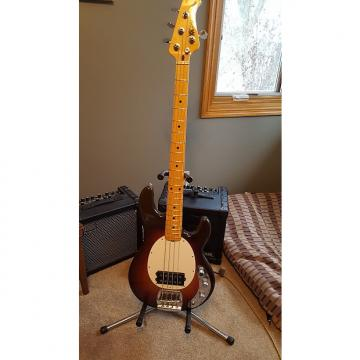 """Custom Music Man 40th Anniversary  StingRay in Chocolate Brown Sunburst. Own a new """"Old Smoothie"""""""