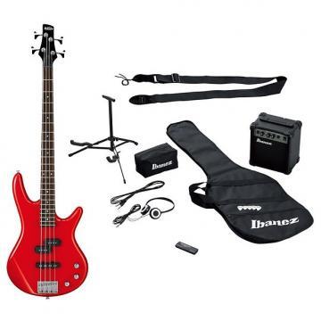 Custom Ibanez Ibanez IJSR190 Jump Start Red Bass Pack, (RRP £299)