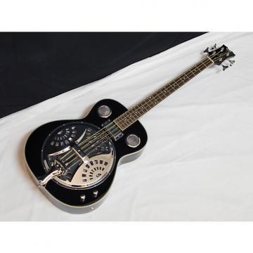 Custom DEAN Resonator Bass 4-string acoustic electric BASS guitar NEW Classic Black