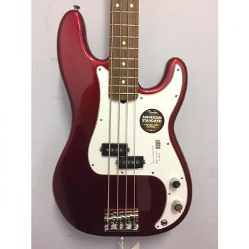 Custom Fender American Standard Precision Bass Rosewood Candy Apple Red 2013 Candy Apple Red
