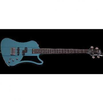 Custom Schecter Sixx Bass Electric Bass Pelham Blue