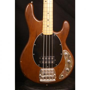 Custom Pre Ernie Ball Music Man Stingray 1979 Walnut Mocha electric bass guitar all original with hard case