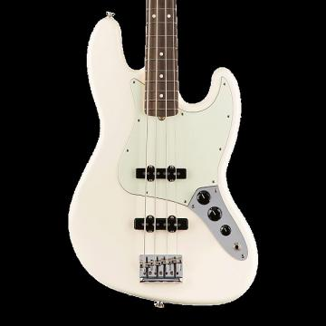 Custom Fender American Professional Jazz Bass with Rosewood Fingerboard - Olympic White with Case