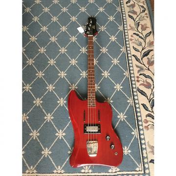 Custom Guild Jet Star Bass Guitar 1966 Cherry