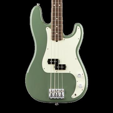 Custom Fender American Professional Precision Bass with Rosewood Fingerboard - Antique Olive with Case