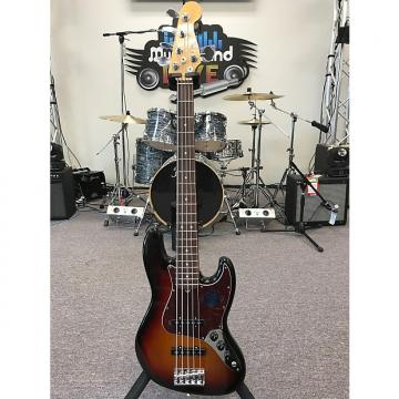 Custom Fender American Standard Jazz Bass V 2016 3 Color Sunburst