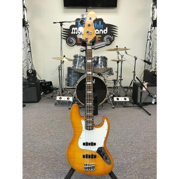 Custom Fender American Select Jazz Bass 2012 Amber Burst