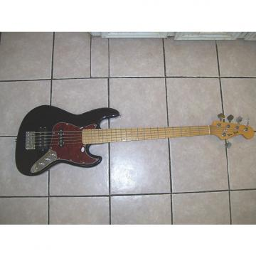 Custom 5 string bass guitar,  New  2017 Black