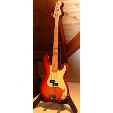 Custom 2006 Custom Precision style bass with active electronics Amber Cherry Sunburst