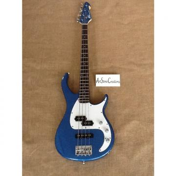 Custom Peavey Milestone 4-String Electric Bass 2016 Gloss Blue