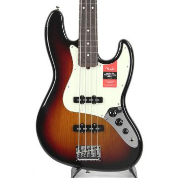 Custom Fender American Professional Jazz Bass Three Tone Sunburst