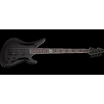 Custom Schecter Signature Dale Stewart Avenger Electric Bass in Gloss Black Finish