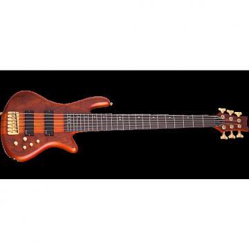 Custom Schecter Stiletto Studio-6 Electric Bass in Honey Satin