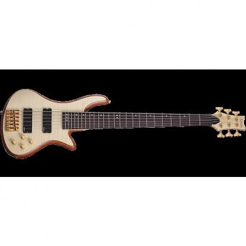 Custom Schecter Stiletto Custom-6 Electric Bass Gloss Natural