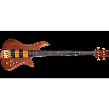 Custom Schecter Stiletto Studio-4 FL Electric Bass Honey Satin