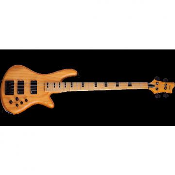 Custom Schecter Session Stiletto-4 Electric Bass in Aged Natural Satin Finish
