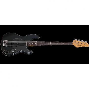 Custom Schecter Diamond-P Custom-4 Active Electric Bass Satin Black