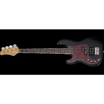 Custom Schecter Diamond-P Plus Left-Handed Electric Bass in Gloss Black Finish