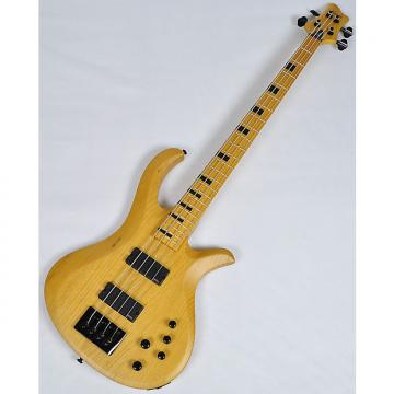 Custom Schecter Riot-4 Session Electric Bass in Aged Natural Satin Finish
