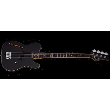 Custom Schecter dUg Pinnick Baron-H Electric Bass Gloss Black