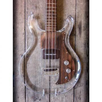 Custom 1970 Ampeg Dan Armstrong Lucite Bass Transparent