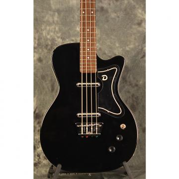 Custom Danelectro 56 Singlecut Bass  2016 Black Gloss w Deluxe Gigbag Included & FREE Shipping
