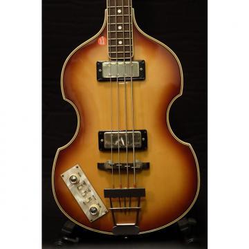 Custom Greco Left-Handed Violin Bass mid 70's  Light Tobacco Sunburst
