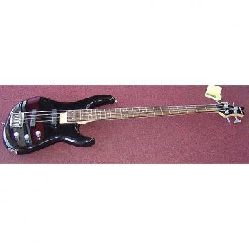 Custom JACKSON C4P 4-String Bass Guitar (Black)