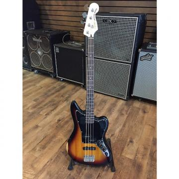 Custom Squier Modified Jaguar Bass Special 3-Color Sunburst