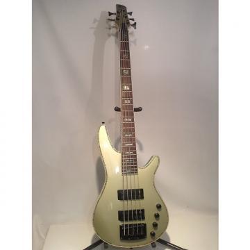 Custom Rare Ibanez SRX475 SoundGear 5 String Active Bass Guitar, Metallic Mint w/ Abalone